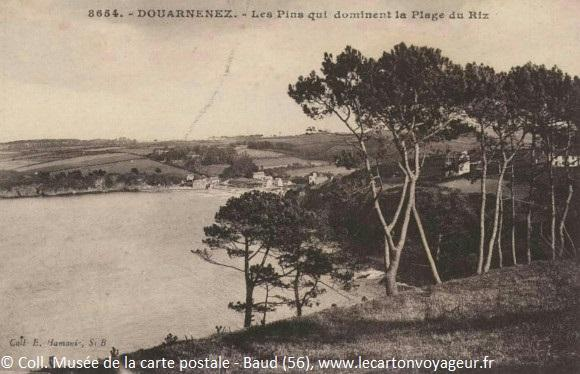 Carte postale ancienne de Douarnenez