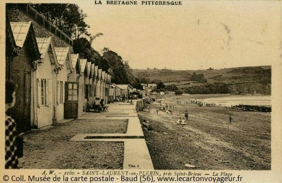 Carte postale ancienne de Saint-Laurent en Plérin