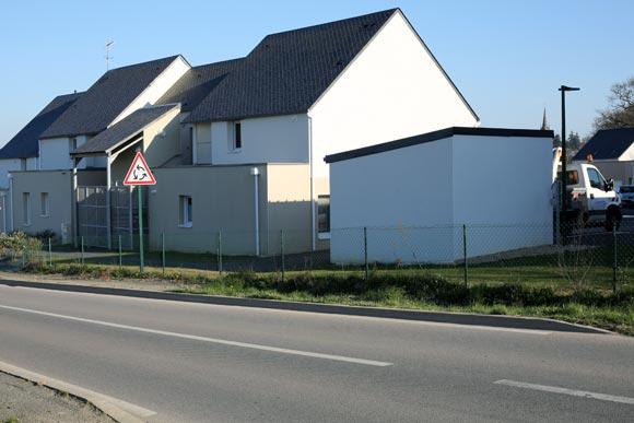 Entrée d'Elven (Morbihan)