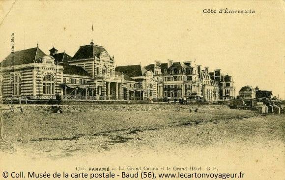 Carte postale ancienne de la Côte d'Emeraude