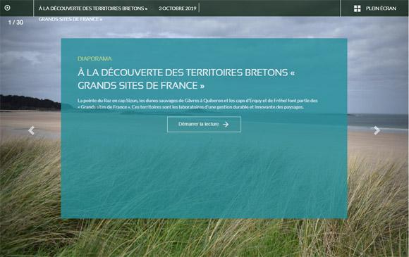 Diaporama - À la découverte des territoires bretons « Grands Sites de France »