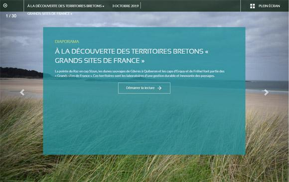 Diaporama - À la découverte des territoires bretons « Grands Sites de France »