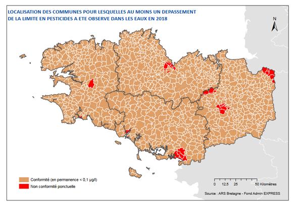 pesticides-eaux-distribuees-2018-ars-bretagne-carte
